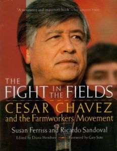 Cesar Chavez book cover
