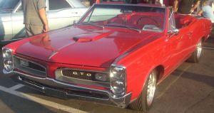 Pontiac GTO 1966 , wikimedia