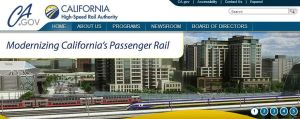 High-speed rail front page