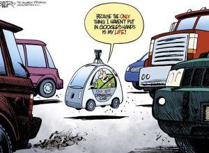 google car, beeler, cagle, July 8, 2014