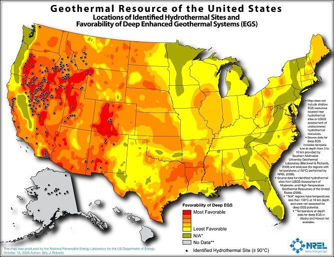 Geothermal New Front In CA Fracking War CalWatchdogcom - Us fracking map