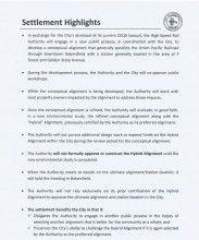 Bakersfield settlement highlights