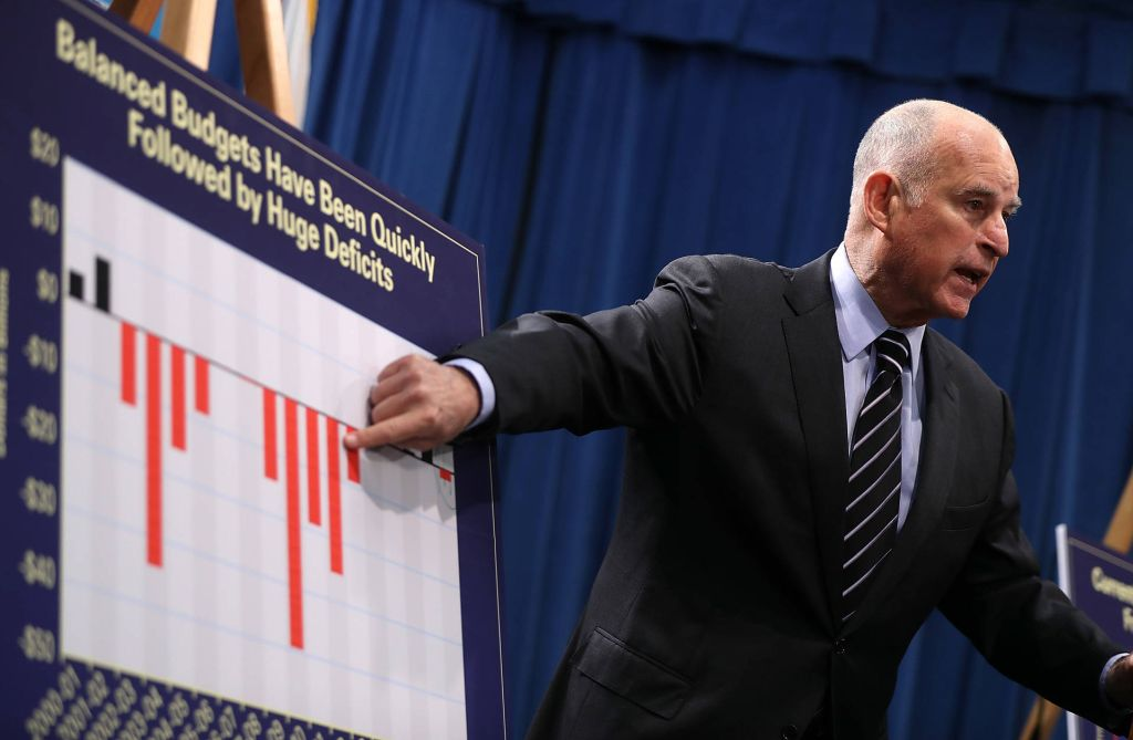 Is California budget as 'balanced and progressive' as Gov. Brown suggests?