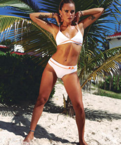 Bikini blanca con triangulo fijo Berenson White