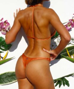 Bikini triángulo cobre