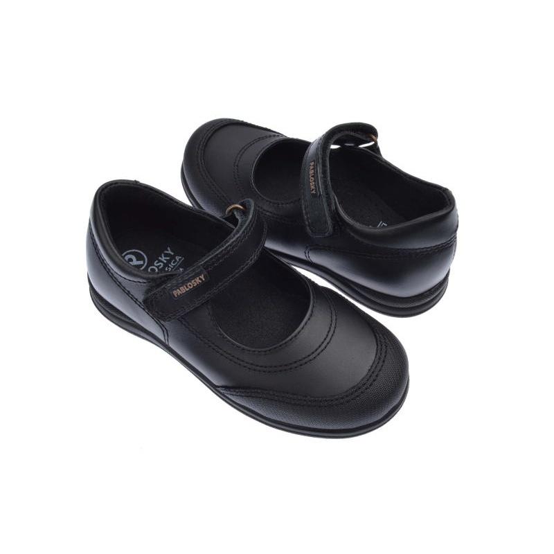Zapatos Colegiales de nia color negro Pablosky