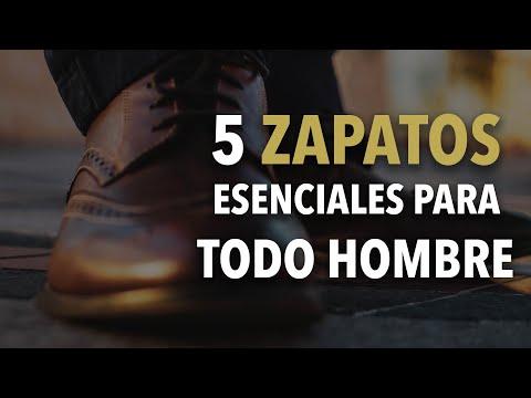 5 zapatos que TODO hombre debe TENER