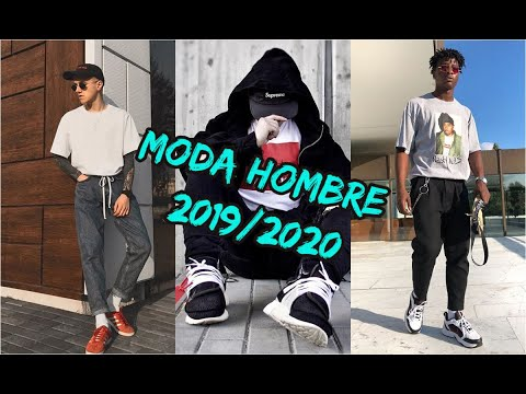 MODA 2019/2020 Hombre URBANO (TENDENCIAS) Street style.