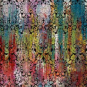 Alfombra Floral de Arte Abstracto Belis 24139 21 Multi
