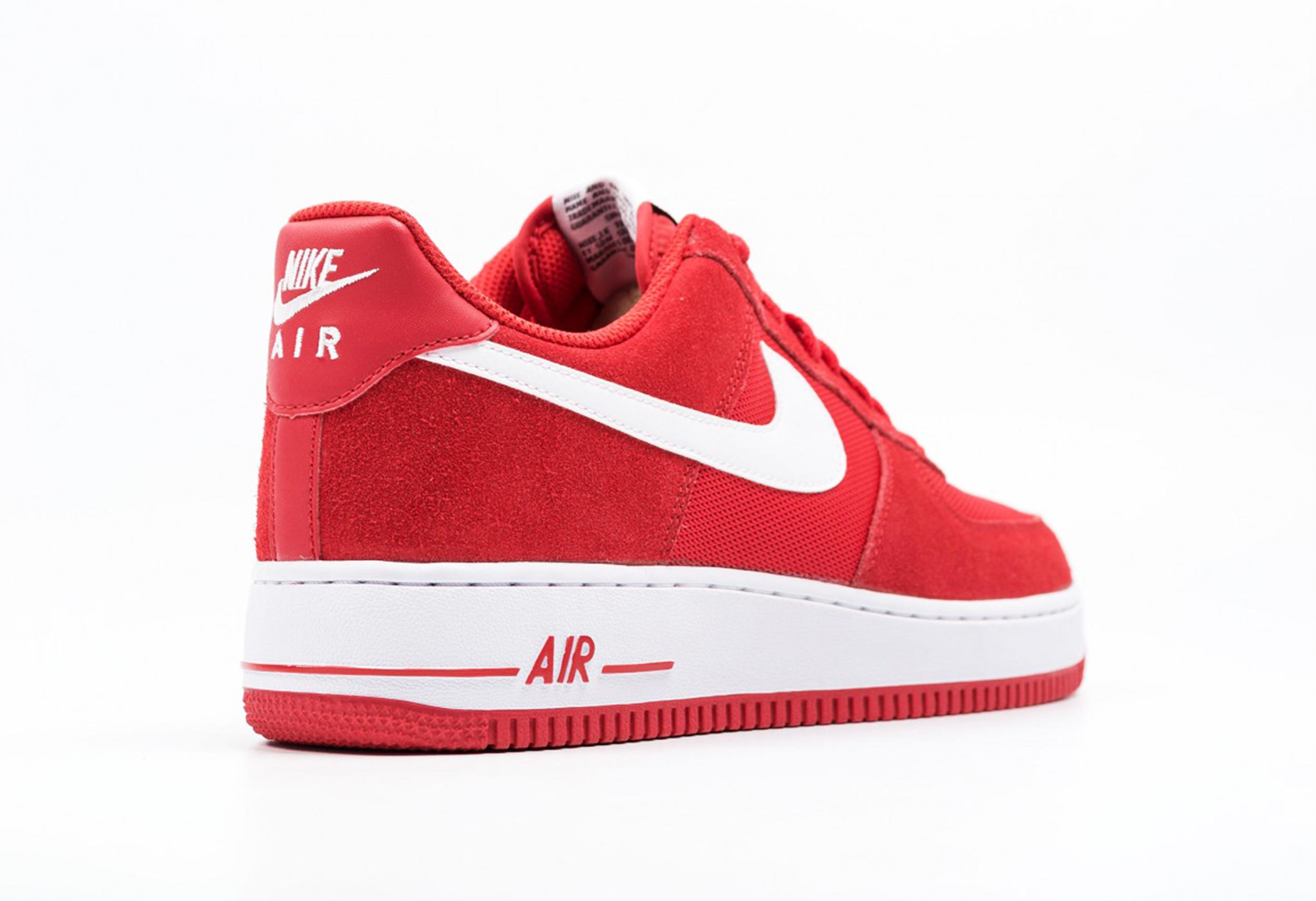 "5316e5740c685 Nike Air Force 1 ""Rojo Blanco"" Original"