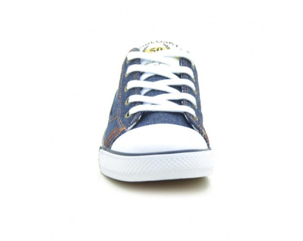 Zapatillas de Lona niño azul 955920 Pablosky puntera