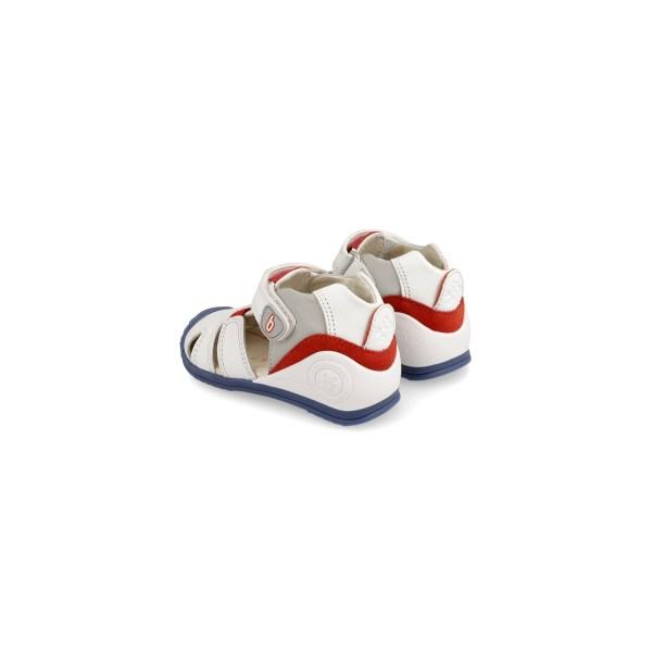 Sandalias para bebé Antón Biomecanics talón