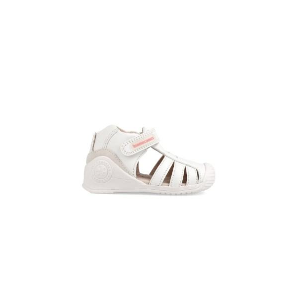 Sandalias para bebé Lourdes Biomecanics lado