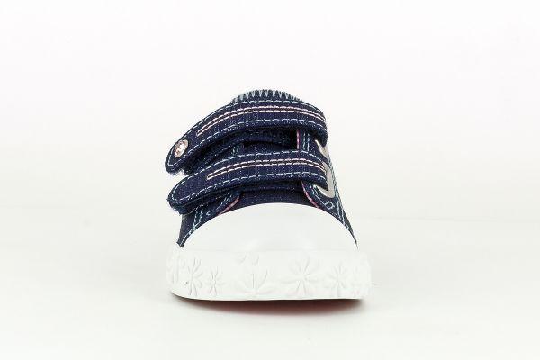 Zapatilla Lona Lino azul 961621 Pablosky puntera