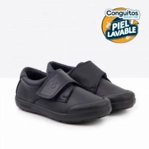 Zapatos colegial piel lavable Conguitos