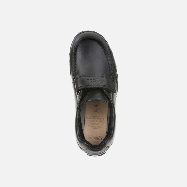 Zapatos Snake de niño Geox marino arriba