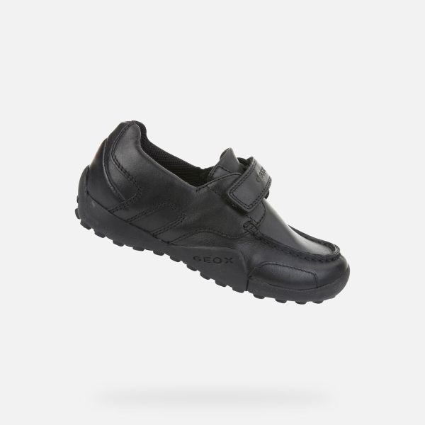 Zapatos Snake de niño Geox marino lado inclinado