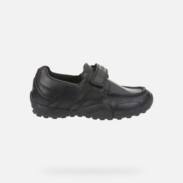 Zapatos Snake de niño Geox marino lado