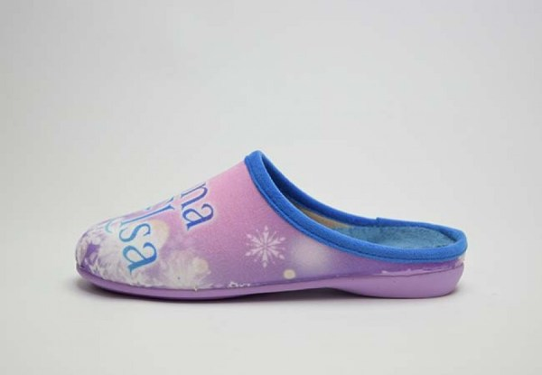 Zapatilla de casa para niña Frozen Vulca Bicha lado