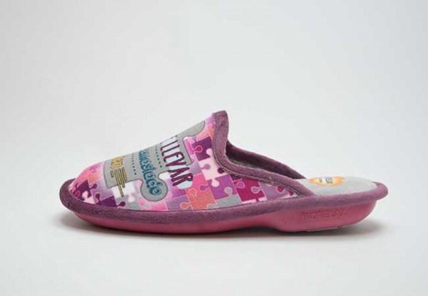 Zapatillas de casa Biorelax frase lado