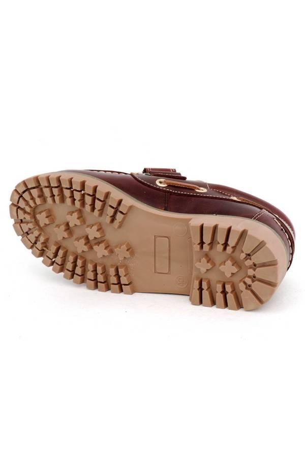 Zapatos de niño Yowas marrón suela