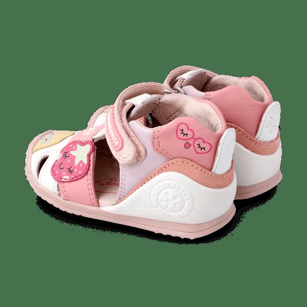 Sandalias para bebé niña Gia Biomecanics talón
