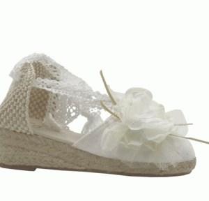 Zapatilla niña Esdori blanco