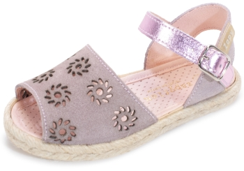 Sandalia estampada rosa niña Zapy