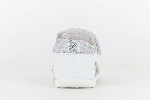Sandalias bebé niña piel 092100 Pablosky talón