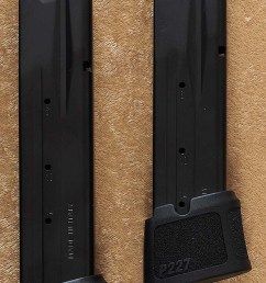 btw the 10 round magazines can hold 11 and the 14 round magazines can hold 15 if you replace the tall locking plate with a flat one  [ 800 x 1174 Pixel ]