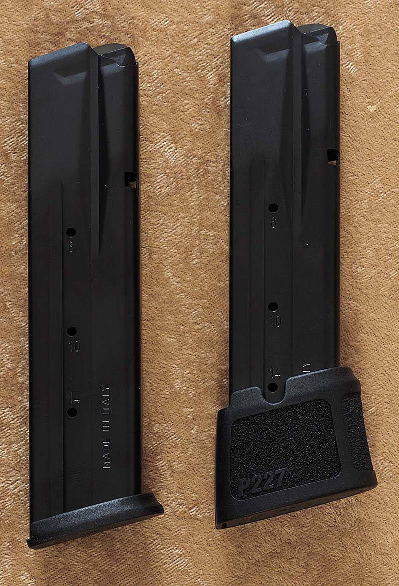 hight resolution of btw the 10 round magazines can hold 11 and the 14 round magazines can hold 15 if you replace the tall locking plate with a flat one