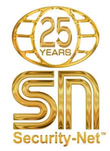 Security Net 25 Year Logo