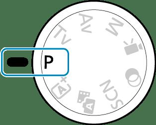 Canon : Product Manual : EOS M50 Mark II : Program AE Mode (P)