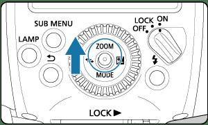 Canon : Product Manual : Speedlite EL-1 : Set the Flash