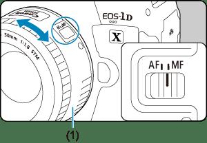 Canon : Product Manual : EOS-1D X Mark III : Manual Focus