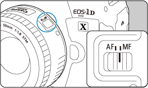 Canon : Product Manual : EOS-1D X Mark III : Manual Focus