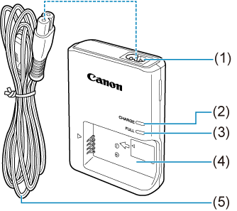 Canon : Product Manual : EOS M50 Mark II : Part Names