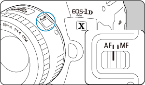Canon : Manual del producto : EOS-1D X Mark III : Montaje