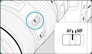 Canon : Manual del producto : EOS R6 : Montaje y