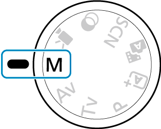 Canon : Product Manual : EOS M50 Mark II : Manual Exposure