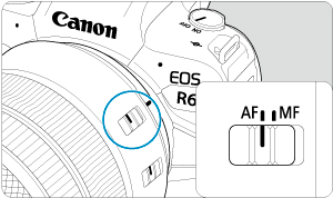 Canon : Product Manual : EOS R6 : AF Operation