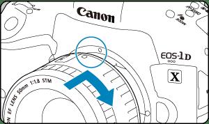 キヤノン:製品マニュアル|EOS-1D X Mark III|レンズを取り付ける/取り外す