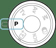 キヤノン:製品マニュアル|EOS Kiss X10i|プログラムAEモード(P)