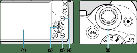 Canon : Product Manual : EOS M50 Mark II : Menu Operations