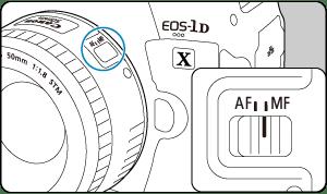 Canon: Manual do produto: EOS-1D X Mark III : Focagem Manual