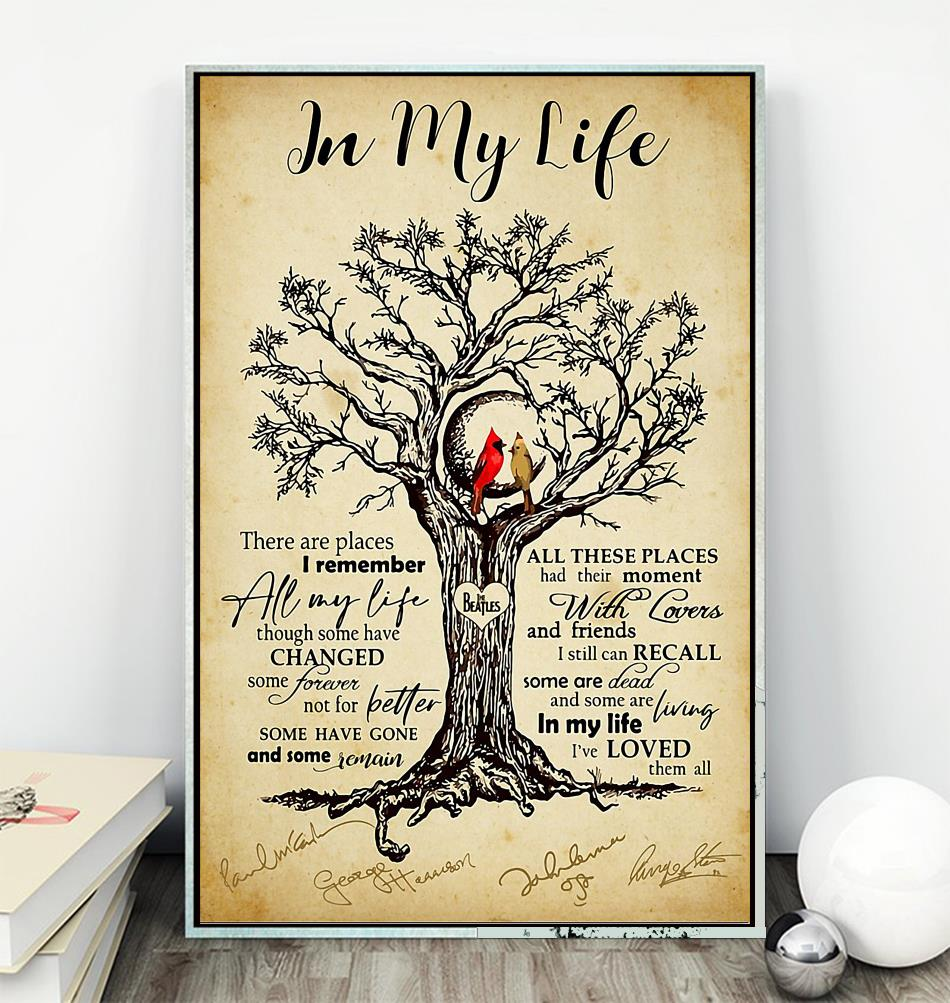 are places i remember tree poster
