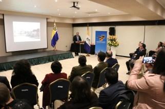 Premio Diego Portales Palazuelos, entregado al gobernador de la Provincia de Concepción, Robert Contreras Reyes.