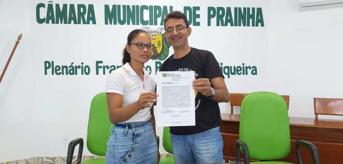 Presidente empossa a senhora Joseane Pereira Viana