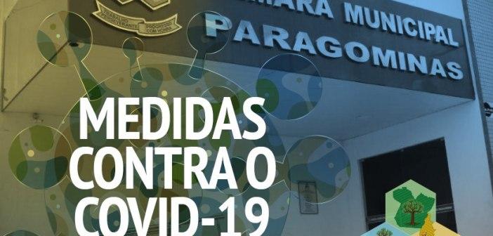 Câmara Municipal de Paragominas dá exemplo estabelecendo novas medidas para evitar contaminação do COVID-19