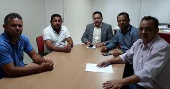 Vereadores em Reunião com o Secretário Regional de Governo do Sul e Sudeste do Estado